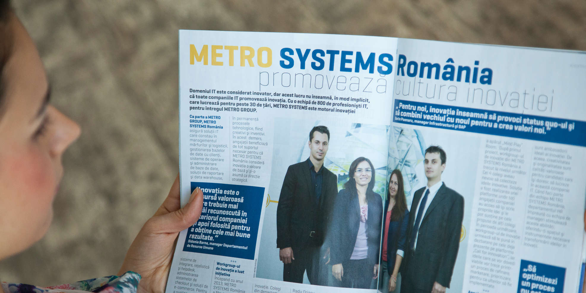 Newspaper METRO SYSTEMS